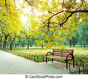 Park in the fresh air of the Boulevard