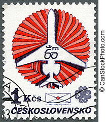 CZECHOSLOVAKIA - 1983: devoted the 60th anniversary of the...