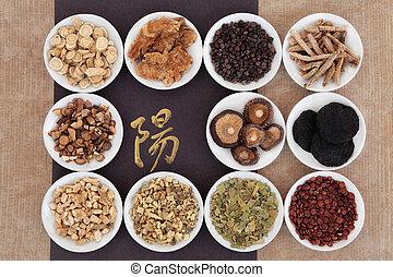 Yang Herbs - Yang herb chinese herbal medicine selection...