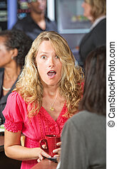 Shocked Woman