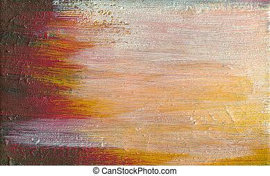 Background, acrylic paint