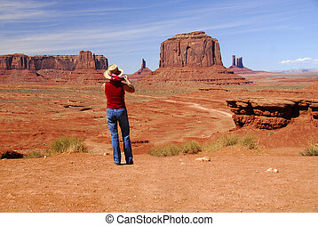 Monument Valley Tourist