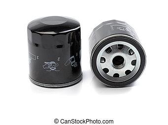 Car engine oil filter