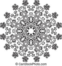 Mandala Design Illustration Vector