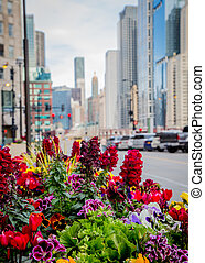 Merchandise Mart Chicago flowers - Flowers in the...
