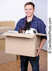 Moving to house