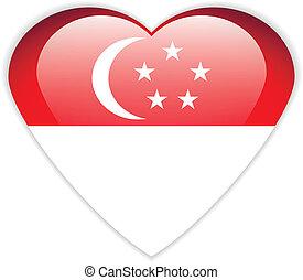 Singapore flag button.