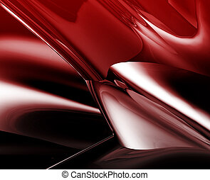 Abstract wallpaper background illustration of smooth flowing...