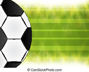 Soccer ball. Brazil world cup football 2014.