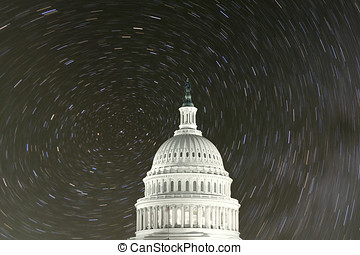 United States Capitol with North Star Rotation