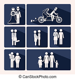 Lovedesign - Love design over background,vector illustration