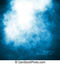 Blue dark sky illustration