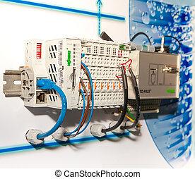 Telecontroller box - BANGKOK - JUNE 4 : Telecontroller box...