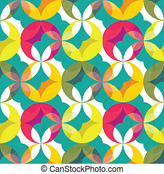 vicious - seamless pattern with abstract colorful ornament