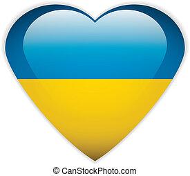 Ukraine flag button.