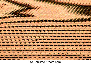 Tile roof - Terracotta tile roof