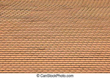 Tile roof - Terracotta tile roof