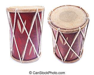 Percusión, Instrumento, tambor,  conga, aislado