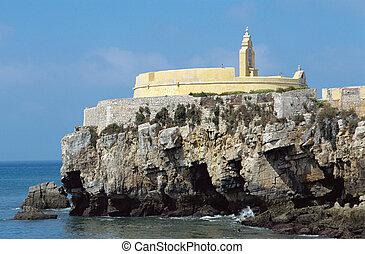 Peniche Citadel in Portugal - View upon Citadel of Peniche...
