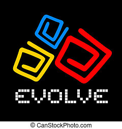 Evolve cover - Creative design of evolve cover