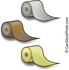 PAPER TOWEL ROLLS - Rolls of Paper Towels