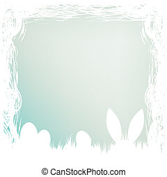Happy easter card template. EPS 8 - Happy easter card...