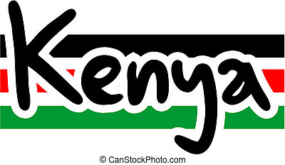 Kenya card - Creative design of kenya card