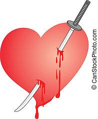 Kill heart - Creative design of kill heart