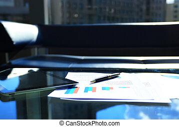 tavola, finanziario, tabelle
