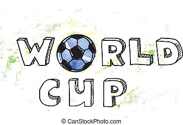 World Cup football background