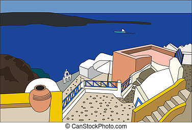The architecture of Santorini - The traditional architecture...