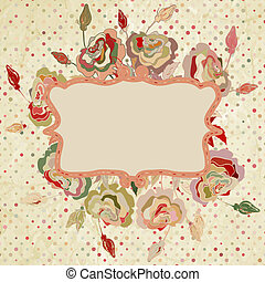 Abstract colorful floral background. EPS 8