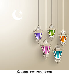 Ramadan Kareem - Eid Mubarak - Islamic Background For...