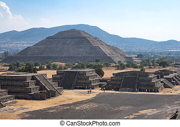 Teotihuacan Pyramids - Pyramid of the Sun. Teotihuacan....