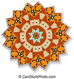 patrón, Extracto, geométrico, Plano de fondo,  circular
