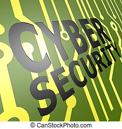 PCB Board with cyber security