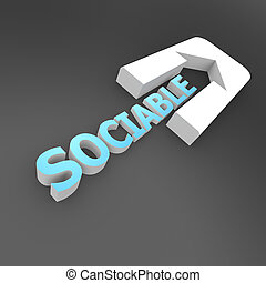 Sociable arrow
