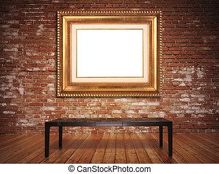 Elegant frame.