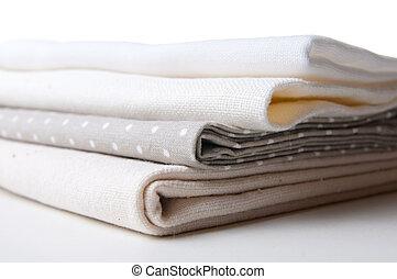 Pilha, Novo, tecidos