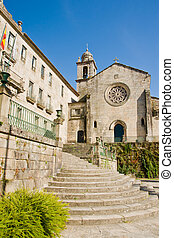 Pontevedra in Galicia, Spain