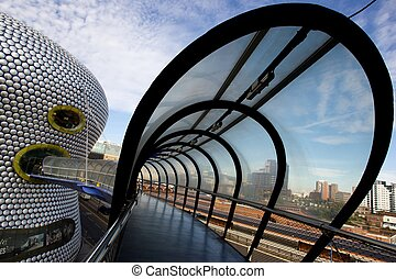 Selfridges Birmingham - A view of the famous Selfridges...