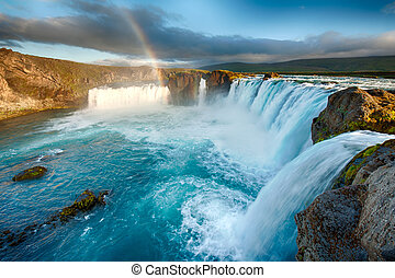Godafoss is a very beautiful Icelandic waterfall It is...