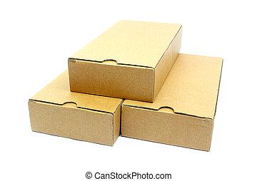 箱子, 紙板