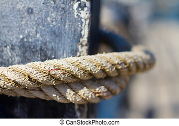 picture of mooring rope.