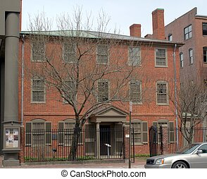 Henry Wadsworth Longfellow House - Childhood home of Henry...
