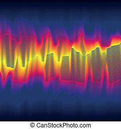 Infrared heat wave