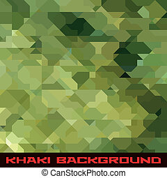 Khaki background with geometric stains - Khaki background...