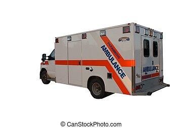Isolated Ambulance