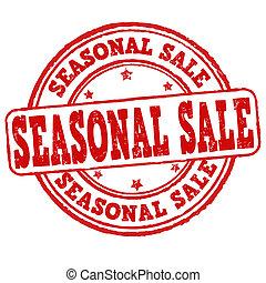 säsongbetonad, försäljning, stämpel