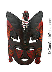 African mask - Old african mask